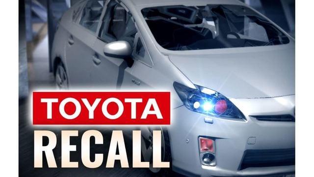 Toyota, Lexus Airbag Safety Recall