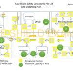 Safe Management Measures Floor Map